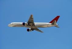 Modern passenger jet Royalty Free Stock Images