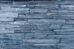 Modern patroon van de muur decoratieve oppervlakten van de bulesteen Stock Afbeelding