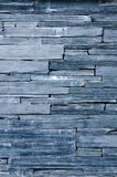 Modern pattern of bule stone wall decorative surfaces Royalty Free Stock Image