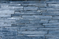 Modern pattern of bule stone wall decorative surfaces Stock Image
