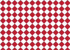Modern pattern checkered ,red and white textile print chess, ab Stock Photo