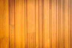 Modern pattern detail of teak wood. Royalty Free Stock Images