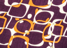 Modern pattern fabric Royalty Free Stock Photos