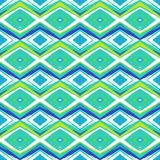 Modern pattern in hipster style Royalty Free Stock Images