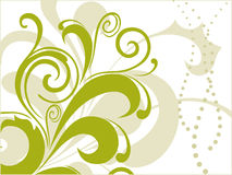 Modern pattern scroll design Royalty Free Stock Photo