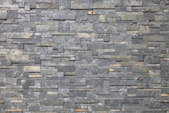 Modern pattern wall. Gray modern  wall from marble material Stock Photos