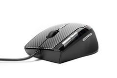 Modern PC mouse Royalty Free Stock Photos