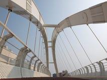 Modern Pedestrian Bridge Stock Photos
