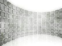 Modern pencil drawing background Royalty Free Stock Images