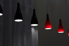 Modern pendant lamps Stock Image