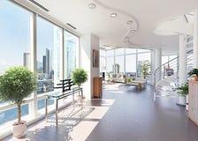 Modern Penthouse Royalty Free Stock Photo