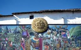 Modern Peruvian art Royalty Free Stock Image
