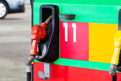 Modern petrol gas station Stock Images