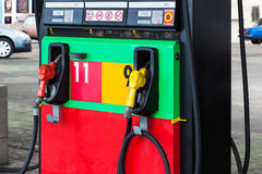 A modern petrol gas station Stock Images