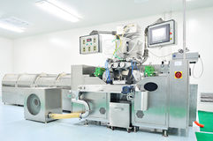 Modern pharmaceutical production equipment Royalty Free Stock Images