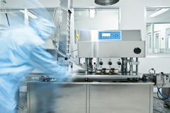 Modern pharmaceutical production plant Royalty Free Stock Photos
