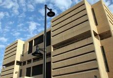 Modern Phoenix parking garage Stock Photos