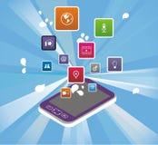 Modern Phone Design Royalty Free Stock Photo