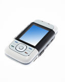 Modern phone isolated Royalty Free Stock Image