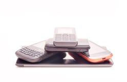 Modern phone pyramid Royalty Free Stock Image