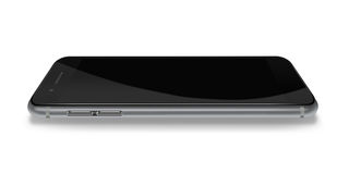 Modern phone realistic smartphone. Stock Image