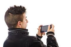 Modern Phones Royalty Free Stock Image