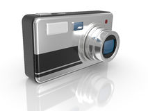Modern photo camera Royalty Free Stock Photography