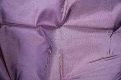 Modern photo purple wrinkled cloth texture Stock Image