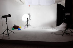 Modern photo studio Stock Photography