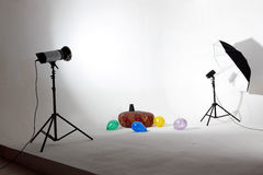 Modern photo studio Royalty Free Stock Photo