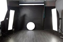 Modern photo studio Stock Photo