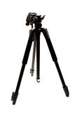Modern photo and video tripod. Stock Photography