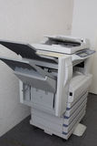 Modern photocopier with digital display  Stock Images