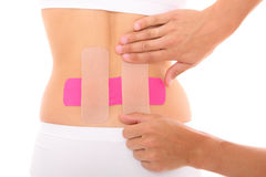 Modern physio tape royalty free stock images