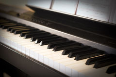 Modern piano Royalty Free Stock Images