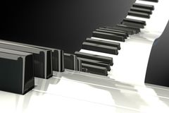 Modern Piano Royalty Free Stock Photo