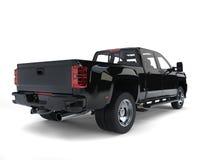 Modern pickup truck - back view Stock Photo
