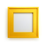 Modern picture frame Royalty Free Stock Photos