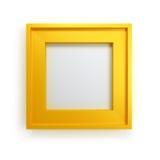 Modern picture frame stock illustration
