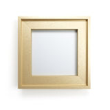 Modern picture frame Royalty Free Stock Images