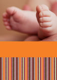 Modern pictures card. Modern announcement baby card,template Royalty Free Stock Photography