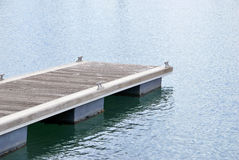 Modern pier Stock Photos