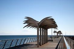 Modern Pier Stock Photo
