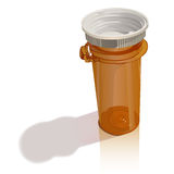 Modern Pill Bottle Royalty Free Stock Image
