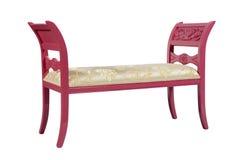 modern pink för soffa Arkivfoto