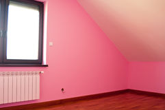 Modern pink room Royalty Free Stock Photo