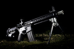 Modern pistol Stock Photos