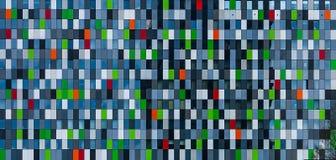 Modern pixel facade. A modern pixel facade found in the Netherlands stock photos
