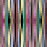 Modern pixelated background with pixels in strips, subtle neutral colors Stock Photography