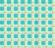 Modern Plaid Pattern Stock Image
